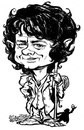 Cartoon: Dr. Bilbo Watson (small) by stieglitz tagged martin,freeman,bilbo,baggins,the,hobbit,karikatur,caricature,caricatura