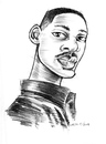 Cartoon: will smith (small) by michaelscholl tagged will,smith,celebrity,star,actor,pencil,sketch