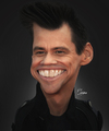 Cartoon: Jim Carrey (small) by Quidebie tagged jim,carrey,celebrity,movie,star,liar,caricature,karikatuur,funny,usa