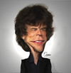 Cartoon: Mick Jagger (small) by Quidebie tagged mick,jagger,rolling,stones,music,song,singer,celebrity,caricature,karikatuur
