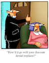 Cartoon: Dental Implants (small) by Billcartoons tagged dentist,dental,teeth,tooth,implants,husband,wife,marriage,romance,romantic,love