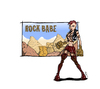 Cartoon: Rock Babe (small) by Toeby tagged berg,champions,online,city,of,heroes,fels,mark,töbermann,mädchen,rockerin,superheldin,toeby,superheroine,girl,rock,mountain