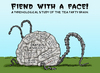Cartoon: Fiend With A Face (small) by dbaldinger tagged tea party republicans anti obama phrenology horror films 1950s
