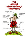 Cartoon: The Modern Revolutionary Trendst (small) by dbaldinger tagged marxist,phoney,wealthy,socialist,poser,trendy,communist