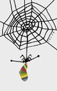 Cartoon: spider (small) by alexfalcocartoons tagged spider