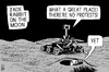 Cartoon: China Moon Rover (small) by sinann tagged china,jade,rabbit,moon,rover,mission