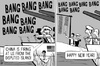 Cartoon: Disputed island firing (small) by sinann tagged disputed,island,fire,warship,bang,new,year