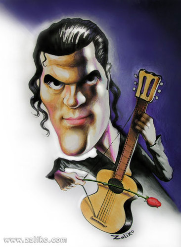 Cartoon: antonio banderas (medium) by zaliko tagged antonio,banderas