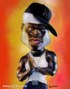 Cartoon: 50 cent (small) by zaliko tagged 50,cent