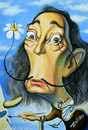 Cartoon: Salvador Dali (small) by zaliko tagged salvador,dali