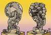 Cartoon: CHILDREN_RIGHTS (small) by MERT_GURKAN tagged children,rights,caricature