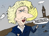 Cartoon: Baronne Margaret Thatcher (small) by BinaryOptions tagged margaret,maggie,thatcher,ministre,baronne,angleterre,grande,bretagne,news,options,binaire,infos,binaires,nouvelles,politique,politicienne,optionsclick,actualites,caricature,comique,comic,webcomic