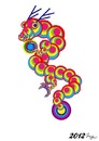 Cartoon: The dragon (small) by meyco tagged dragon,new,year