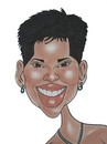 Cartoon: Halle Berry (small) by Berge tagged halle,berry,american,actress,caricature