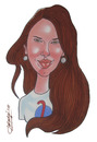Cartoon: Nicoleta Ionescu (small) by Berge tagged rumanian,caricaturist,illustrator