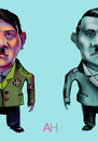 Cartoon: AH (small) by gamez tagged fuhrer,ah,nazi
