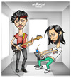 Cartoon: MAMM (small) by gamez tagged monkey,band,nusic,light,day,guy,sui,lui,xui,dui,voi,poi,moi,roi,mucha,dali,mali,foto