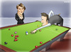 Cartoon: MichaeLa Tabb  GMZ (small) by gamez tagged refferee,michaela,gamez,gmz,snooker,billard,billal