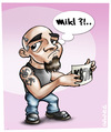 Cartoon: Mikl (small) by gamez tagged gmz,kaicartoonebi