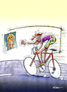 Cartoon: Cycling (small) by Ridha Ridha tagged cycling sport cartoon ridha art from erotic book viva eva published 1994 in germany