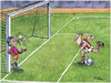 Cartoon: Football (small) by Ridha Ridha tagged sport,cartoon,football,by,ridha