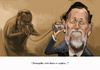 Cartoon: This line is secure (small) by carcoma tagged politica,politics,pp,corrupcion,sobres,barcenas,rajoy,ruz,gurtel,spain