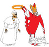 Cartoon: Beatification (small) by tunin-s tagged beatification