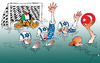Cartoon: Palestinian water-polo (small) by tunin-s tagged game