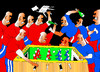 Cartoon: Table soccer (small) by tunin-s tagged soccer