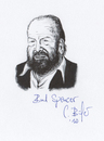 Cartoon: Bud Spencer (small) by Carlo Büchner tagged bud,spencer,carlo,pedersoli