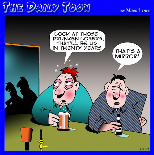 Cartoon: Drinking buddies (medium) by toons tagged drunks,alcohol,the,future,old,age,pensioners,drunks,alcohol,the,future,old,age,pensioners