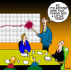 Cartoon: a little tricky (small) by toons tagged business graph boardroom gfc