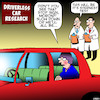 Cartoon: Backseat driver (small) by toons tagged driverless,cars,backseat,driver,auto,research,stern,test