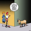 Cartoon: Bearded stranger (small) by toons tagged billy,goat,horoscopes,animals,horny