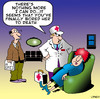 Cartoon: bored to death (small) by toons tagged boring,bored,talking,marriage,first,aid,doctor,ambulance,relationships,divorce,death,wet,blanket