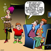 Cartoon: Charity cartoon (small) by toons tagged charity,christmas,xmas,prostitute,pocket,money,allowence,gifts