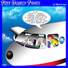 Cartoon: Clairvoyants (small) by toons tagged psychics,clairvoyant,pilots,stewardess,aviation