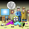 Cartoon: crazed fan (small) by toons tagged movie,stars,fans,superstars,actors,musicians
