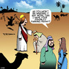 Cartoon: Disability permit (small) by toons tagged jesus,disability,parking,healing,miracle,permit,wheelchair,access