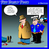Cartoon: Divorce lawyer (small) by toons tagged murder,victim,divorce,lawyer,suspect,marriage,police