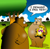 Cartoon: DNA (small) by toons tagged dna,science,genes,adoption,surrogate,parenthood,bears,teddy,bear,paternal