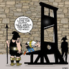 Cartoon: dressed to kill (small) by toons tagged guillotine,beheaded
