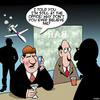 Cartoon: Droning on (small) by toons tagged drones,spying,distrust,bars,working,late