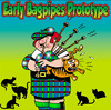 Cartoon: Early Bagpipes Prototype (small) by toons tagged bagpipes,scotland,cats,animals,musical,instrument,music,felines,wind,highlands