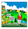 Cartoon: echo echo (small) by toons tagged echo,point,signs,signage,mountains,landscape