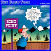 Cartoon: Echo point (small) by toons tagged echo,call,waiting,certre,next,available,operator