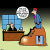 Cartoon: Elevator shoes (small) by toons tagged shoes,elevator,short,people,midget