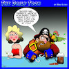 Cartoon: Flirting (small) by toons tagged winking,pick,up,lines,pirates