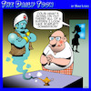 Cartoon: Genie in the lamp (small) by toons tagged scarlett,johannson,genie,in,lamp,magic,movie,acctress