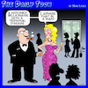 Cartoon: Gold diggers (small) by toons tagged rich,men,terminal,disease,widow,widower,marry